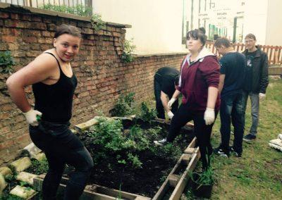 Ropotarnica - mestni vrt - prostovoljstvo - druženje