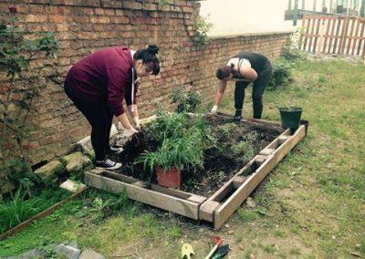 Ropotarnica - mestni vrt - prostovoljstvo - delamo