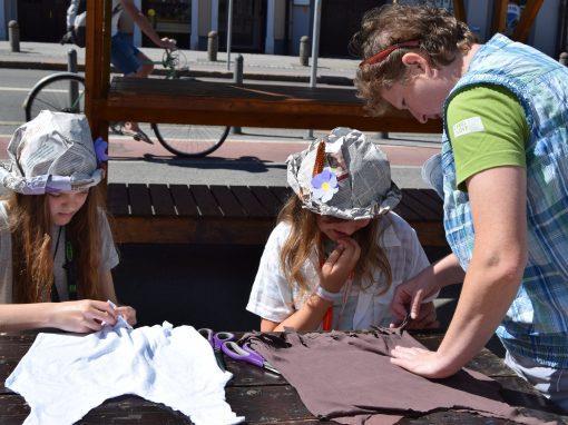 Reciklirane vrečke iz odsluženih majic