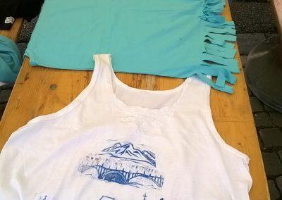 Ropotarnica - delavnica - majice