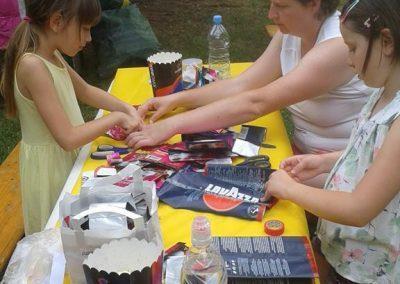 Ropotarnica - Art kamp - park- delavnica 8