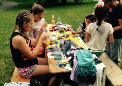 Ropotarnica - Art kamp - park- delavnica 18