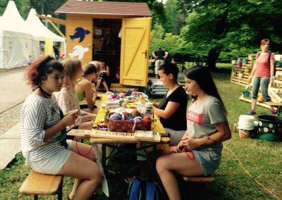 Ropotarnica - Art kamp - park- delavnica 28