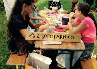 Ropotarnica - Art kamp - park- delavnica 30