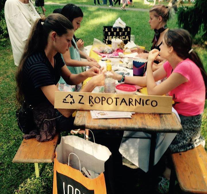 Ropotarnica in Art kamp 2017
