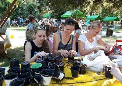 Ropotarnica - Art kamp - park- delavnica 32