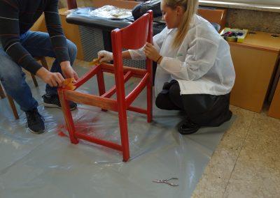 Ropotarnica - delavnica - Snaga - recikliranje - študenti - obnova1