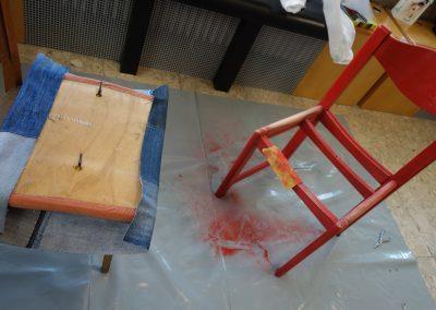 Ropotarnica - delavnica - Snaga - recikliranje - študenti - obnova2