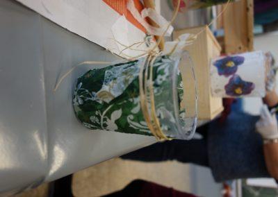 Ropotarnica - delavnica - Snaga - recikliranje - steklo