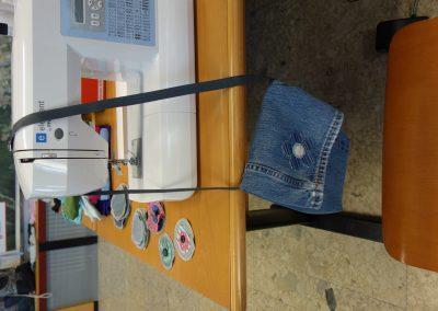 Ropotarnica - delavnica - Snaga - recikliranje - torbica