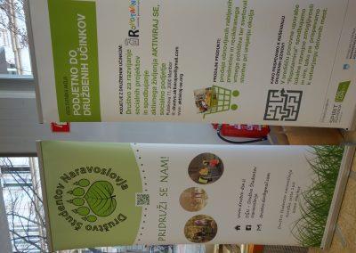Ropotarnica - delavnica - Snaga - recikliranje - študenti - plakat