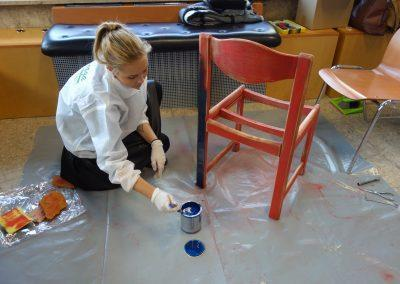 Ropotarnica - delavnica - Snaga - recikliranje - študenti - obnova4