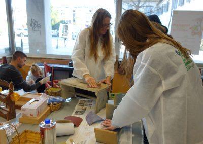 Ropotarnica - delavnica - Snaga - recikliranje - študenti - obnova13