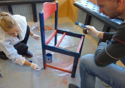 Ropotarnica - delavnica - Snaga - recikliranje - študenti - obnova14