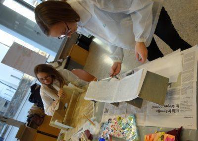 Ropotarnica - delavnica - Snaga - recikliranje - študenti - obnova7