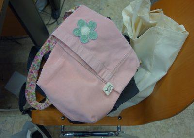 Ropotarnica - delavnica - Snaga - recikliranje - torbica1