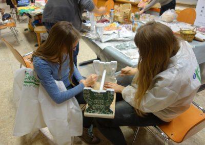 Ropotarnica - delavnica - Snaga - recikliranje - študenti - obnova10