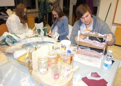 Ropotarnica - delavnica - Snaga - recikliranje - študenti - obnova11