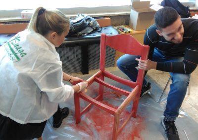 Ropotarnica - delavnica - Snaga - recikliranje - študenti - obnova 20