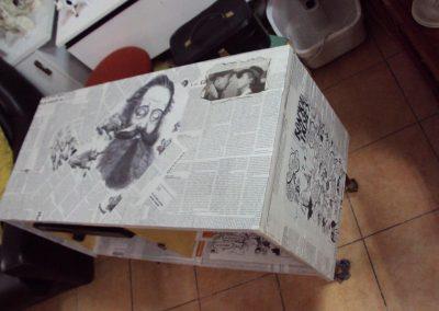 Ropotarnica - pohištvo - obnova - original