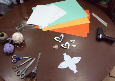 Ropotarnica - recikliranje - delavnica -papir - embalaža2