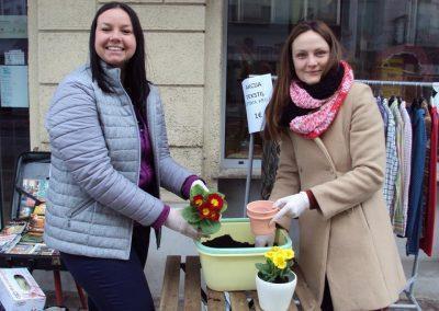 Ropotarnica - recikliranje - delavnica - pomlad