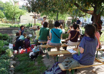Ropotarnica - mestni vrt - dogodek - Andreja