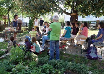 Ropotarnica - mestni vrt - dogodek - Aljaž