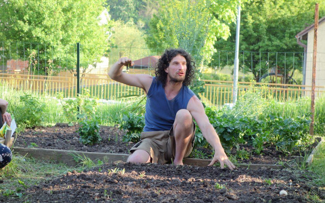 Predavanje Permakultura: negovanje tal na vrtu in kompostiranje