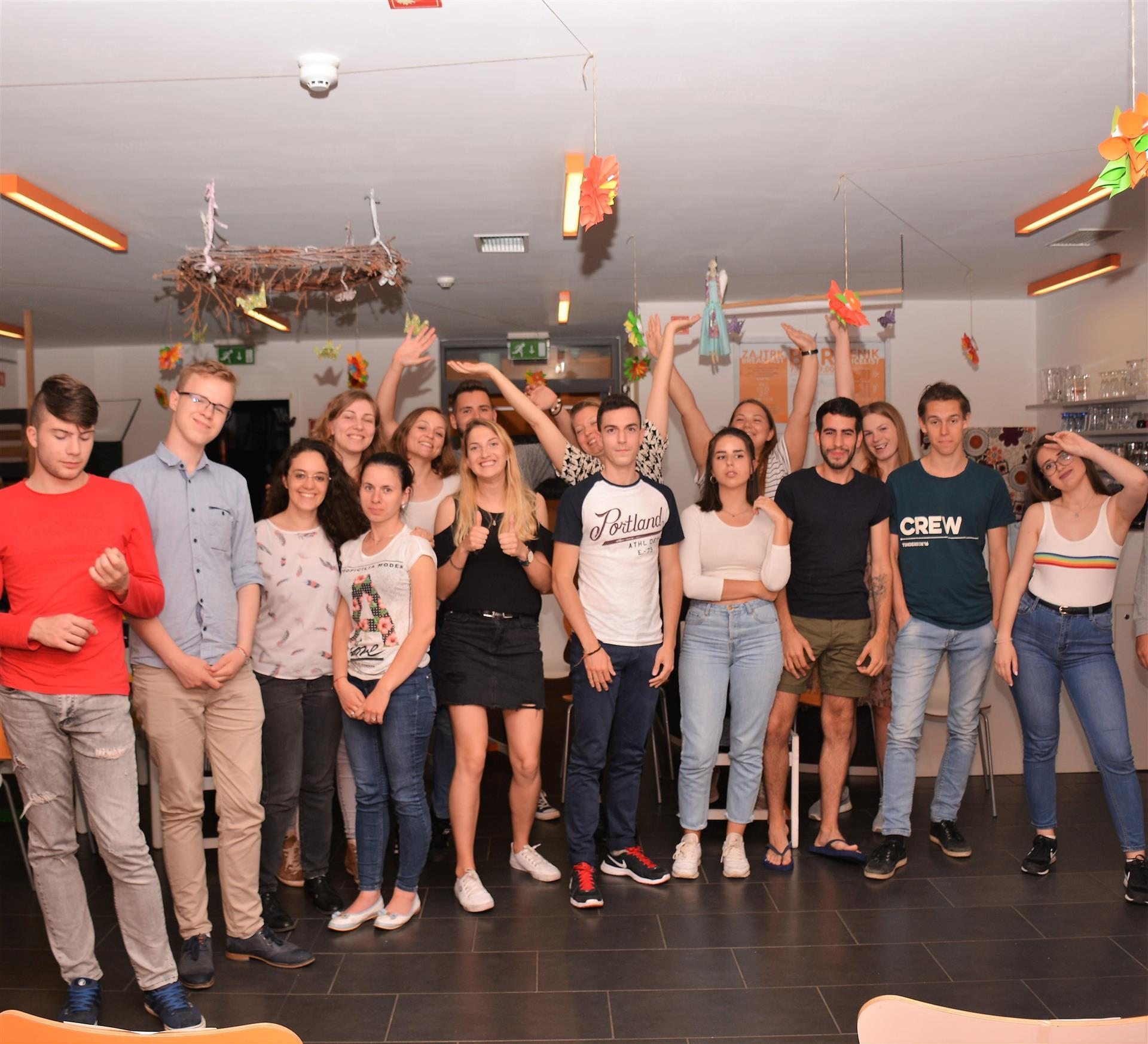 Ropotarnica - prostovoljstvo - Erasmus