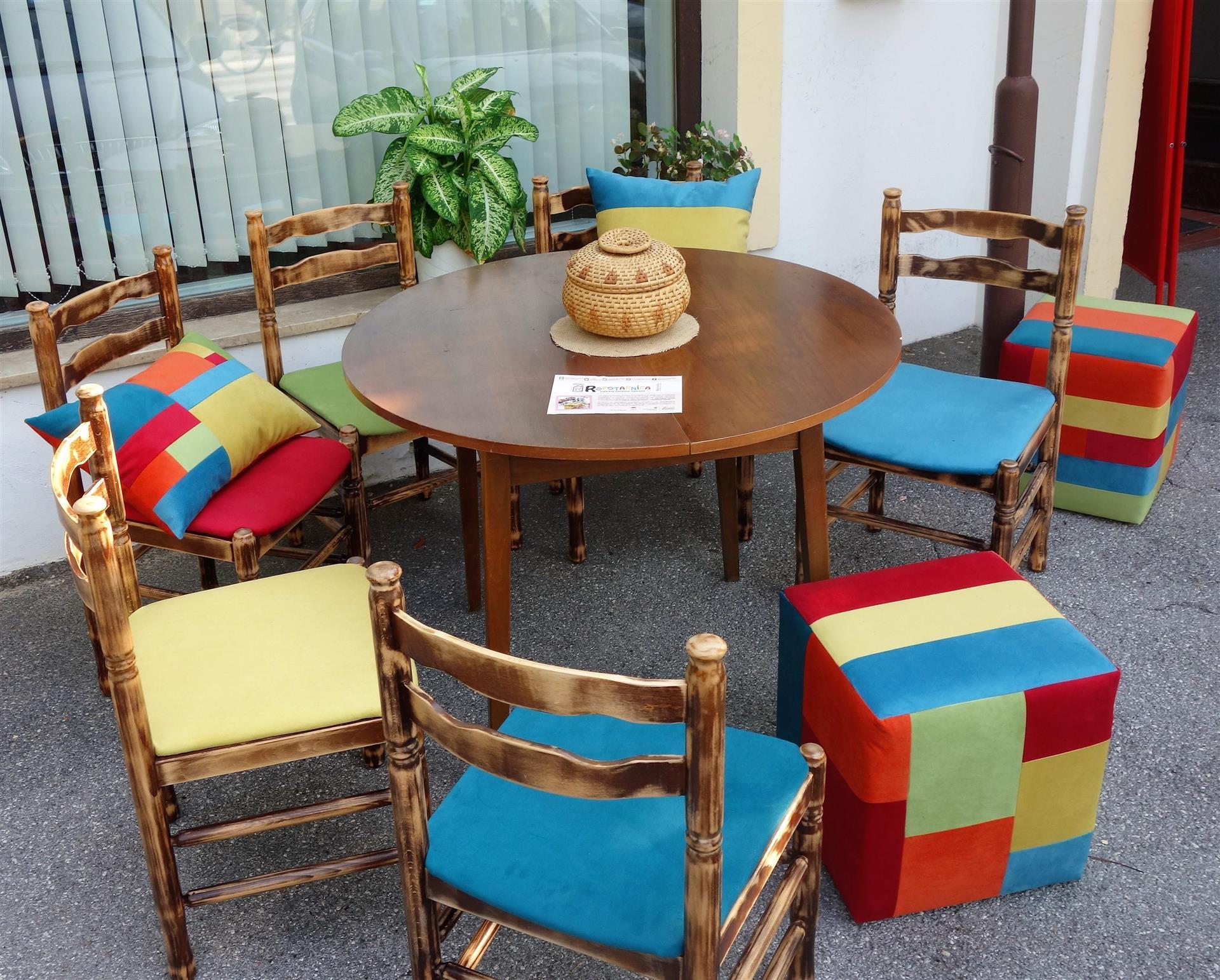 Ropotarnica - pohištvo - obnova - pisano