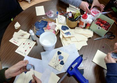 Ropotarnica - voščilnica - recikliramo - valentinovo - delavnica 5